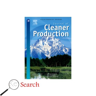 image and link to Journal of Cleaner Production journal articles which is about پایداری