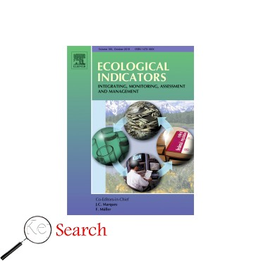 image and link to Ecological Indicators journal articles which is about پایداری