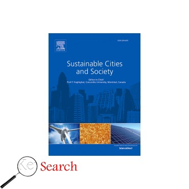 image and link to Sustainable Cities and Society journal articles which is about پایداری